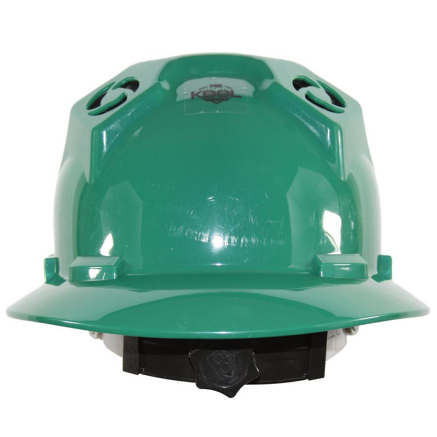 PWCA Solar Hard Hat (Green)