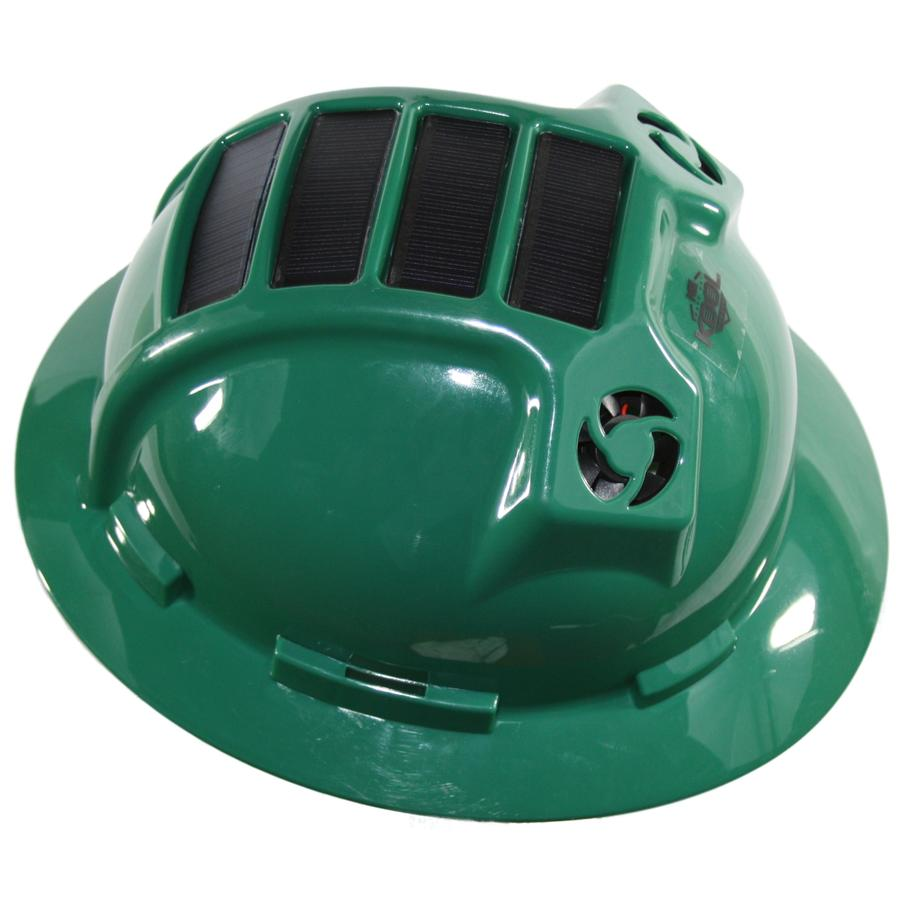 PWCA Solar Hard Hat (Green)