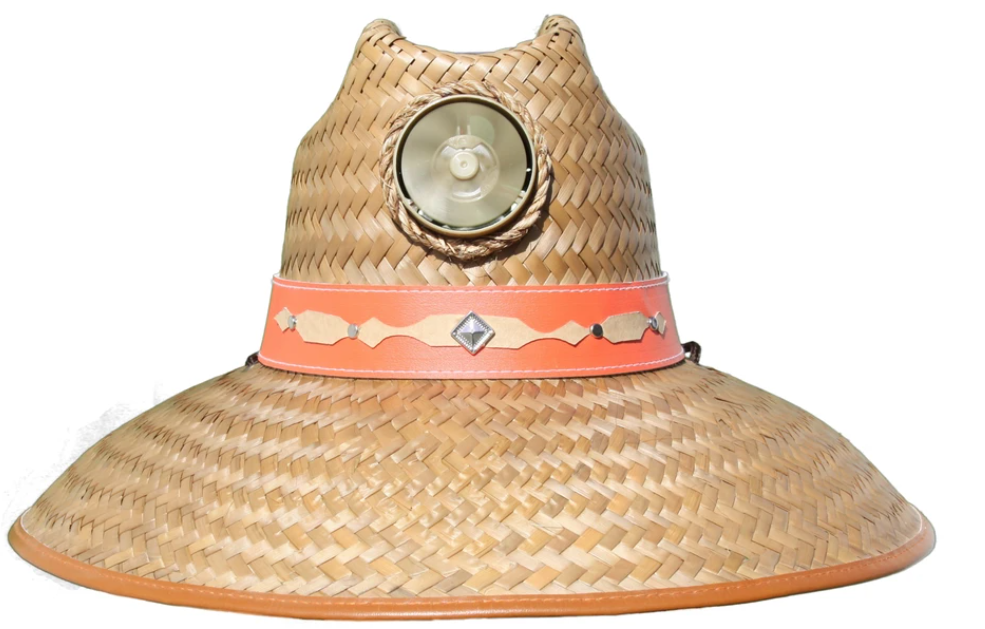 Lady's Thurman Solar Straw Hat w/Headband