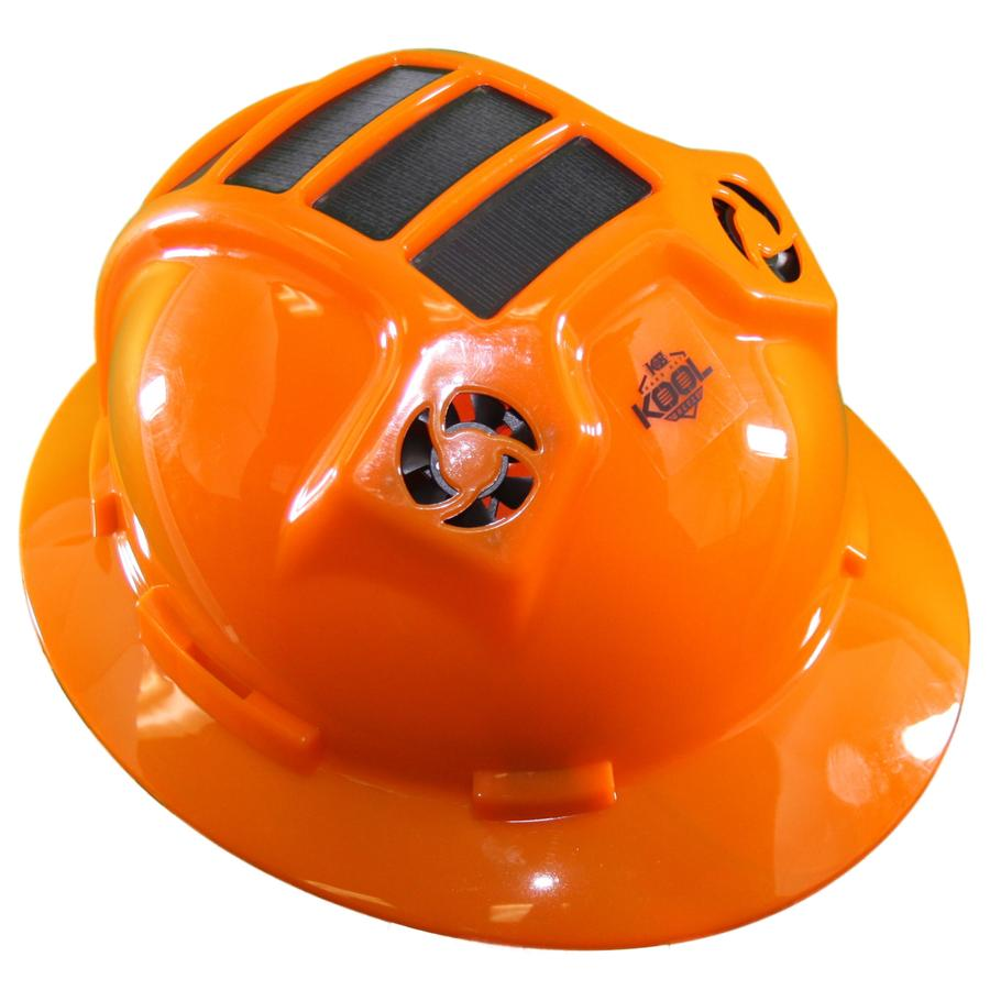 PWCA Solar Hard Hat (Orange)