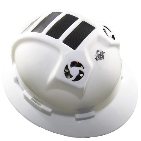 PWCA Solar Hard Hat (White)