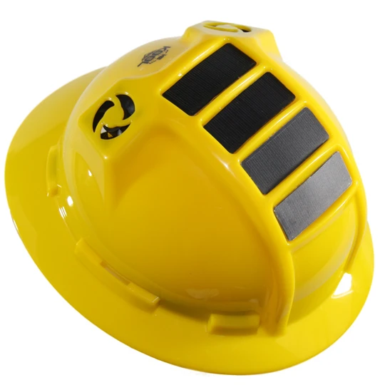 PWCA Solar Hard Hat (Yellow)