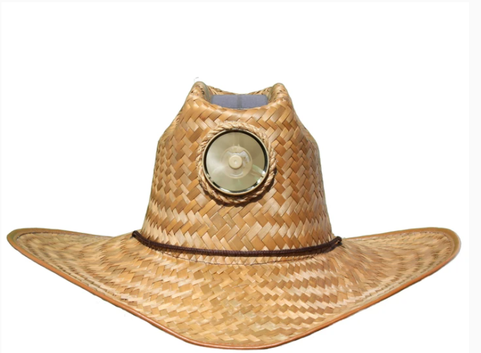 Men's Cowboy Solar Straw Hat