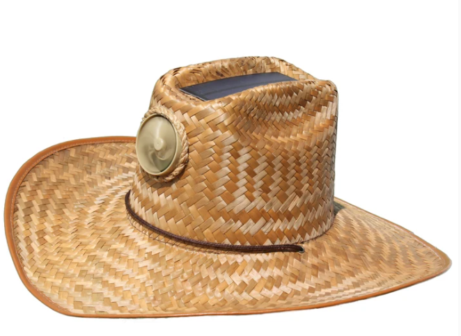 Men's Cowboy Solar Straw Hat