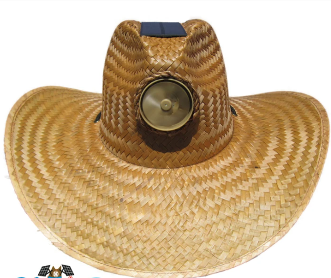 Men's Plain Gentlemen Brown Solar Straw Hat